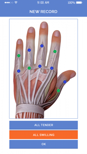 Add data of Hand points