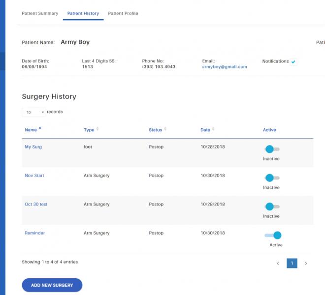 Patients-list
