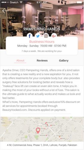 Salons Profile